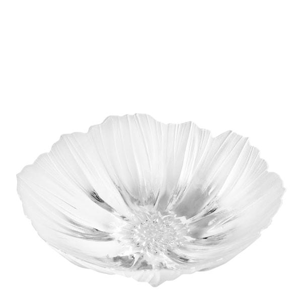 Målerås Glasbruk Anemone Skål 25 cm Hvit