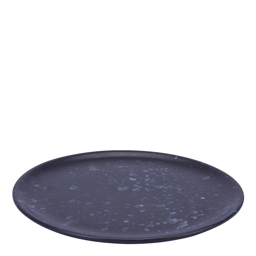 Aida - Raw Tallrik 20 cm Spotted Black