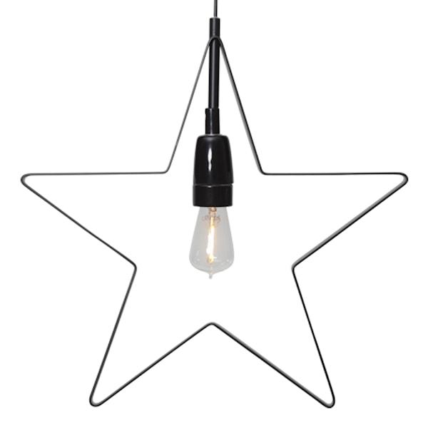 Orbit Stjärna 33 cm Svart
