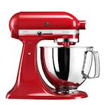 Artisan Kjøkkenmaskin 4,8 L Rød