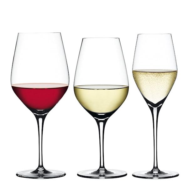 Spiegelau Authentis Vin- og Champagnesett 12-pakning
