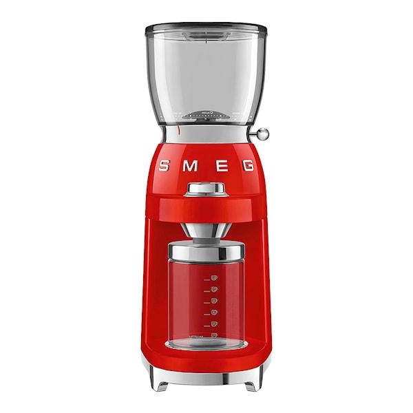 Smeg 50's Style Kaffekvarn Röd