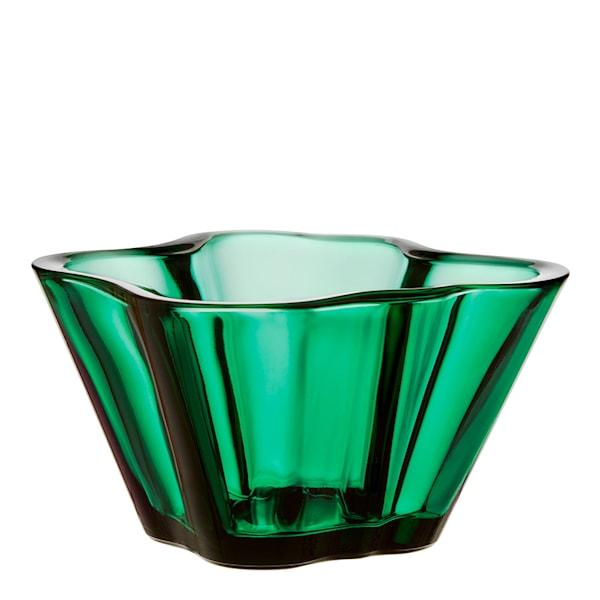Iittala Alvar Aalto Collection Skål 7,5 cm Smaragd