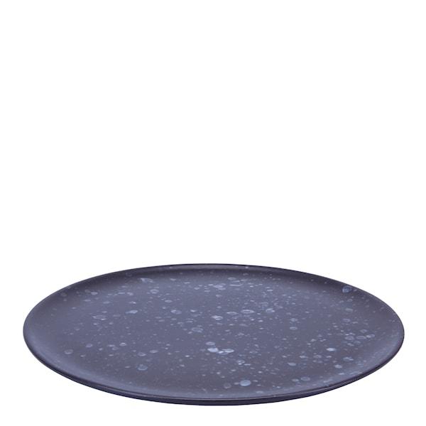 Aida Raw Tallrik 28 cm Spotted Black