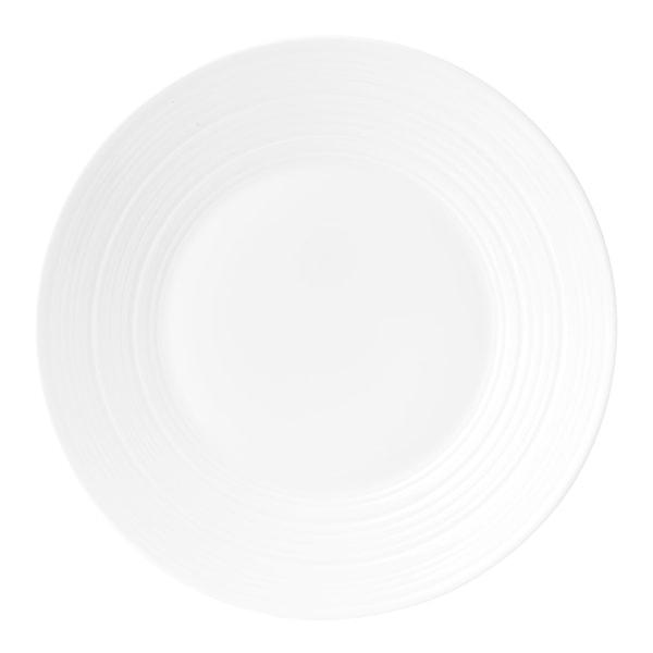 Jasper Conran Strata White Tallrik flat 23 cm