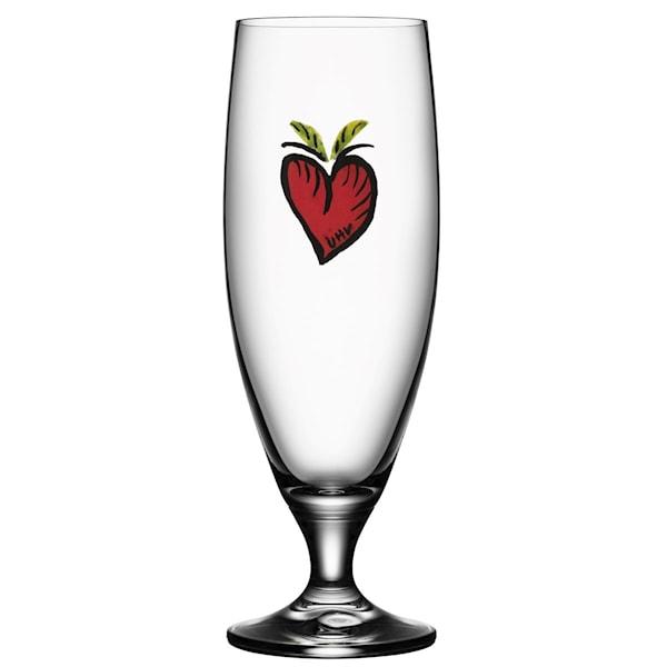 Friendship Ölglas 50 cl Hearts