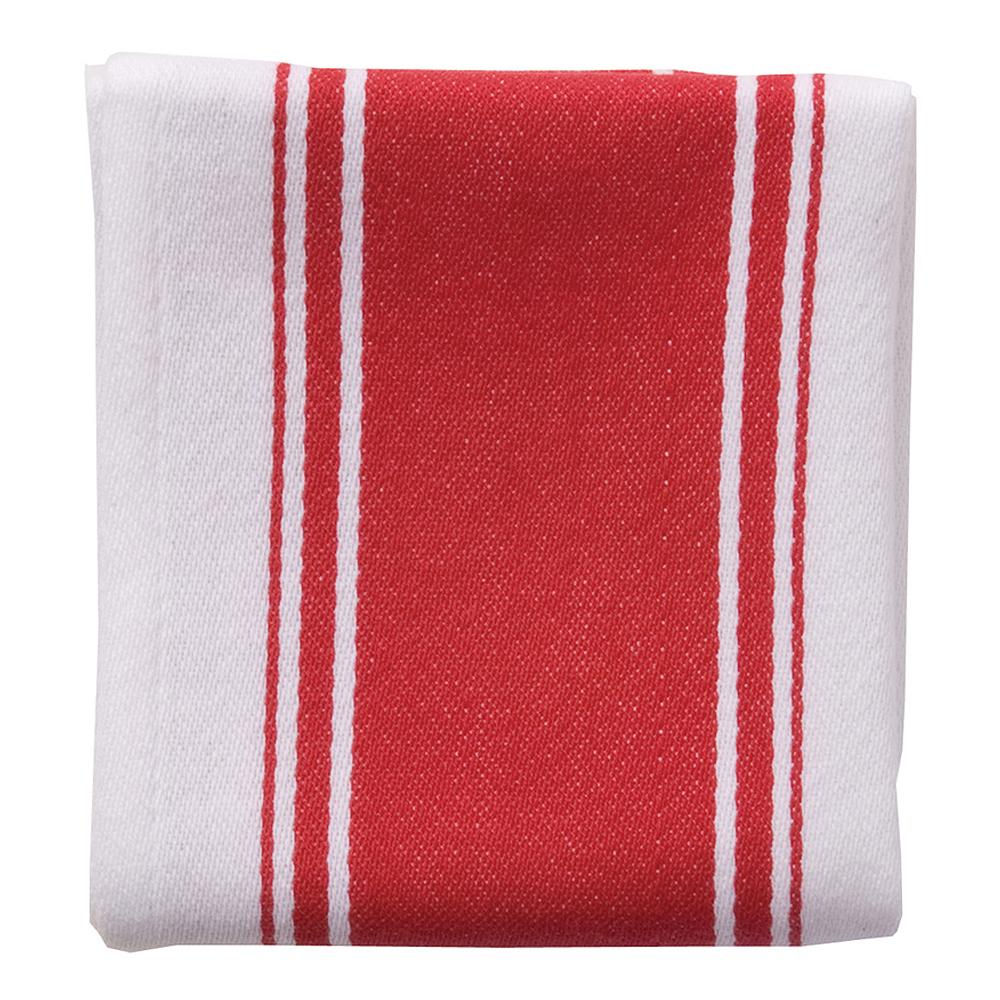 Dexam - Love Colour Handduk 45x70 cm Röd/Vit