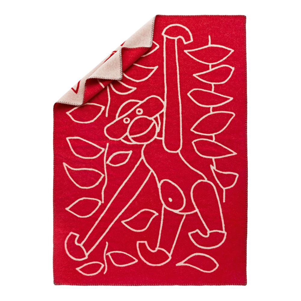 Kay Bojesen - Pläd 80x120 cm Röd