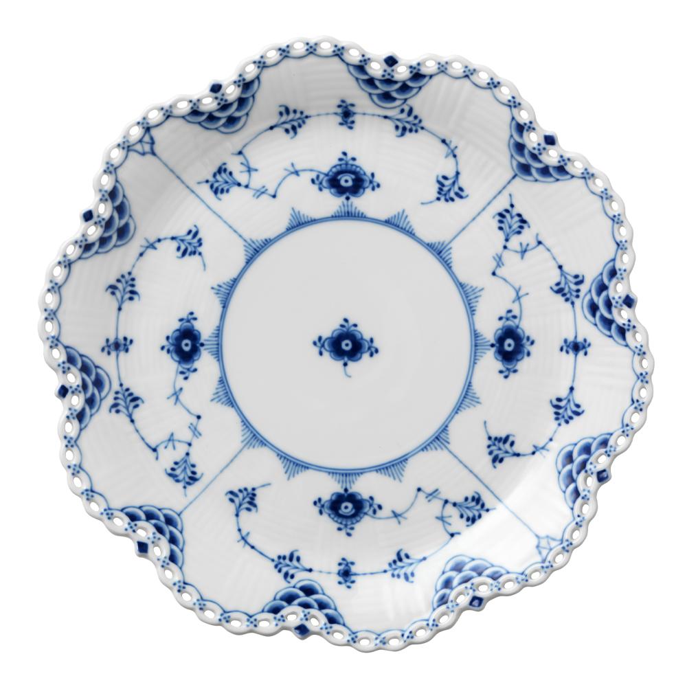 Royal Copenhagen - Blue Fluted Full Lace Fat 25 cm