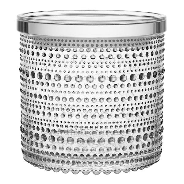 Iittala Kastehelmi Burk/lock 11x11,4 cm Klar