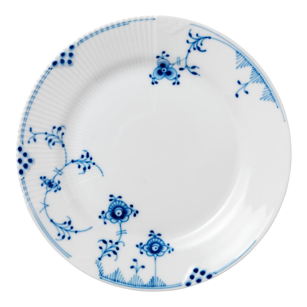 Royal Copenhagen - Blue Elements Tallrik flat 22 cm