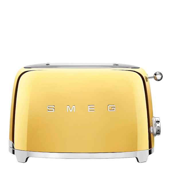 Smeg 50's Style Brödrost 2 skivor Guld