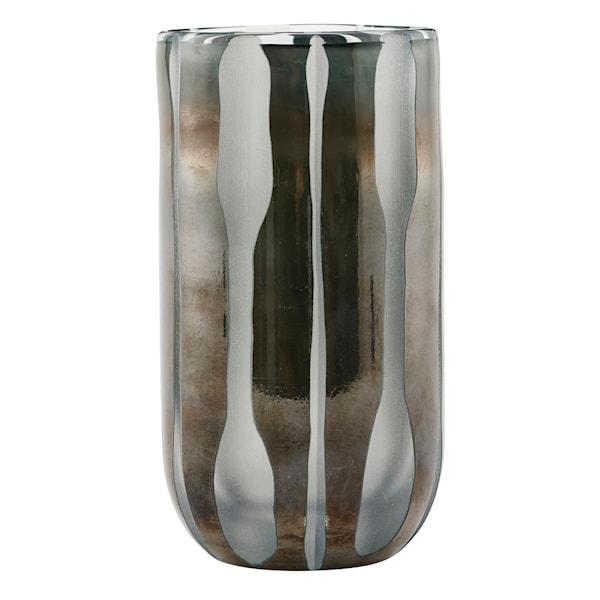 House Doctor Bai Vase Glass 15,5 cm Grå