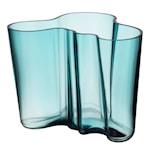 Alvar Aalto Collection Vase 16 cm Havblå