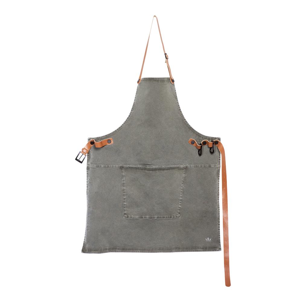 Dutchdeluxes - Förkläde Canvas Grå