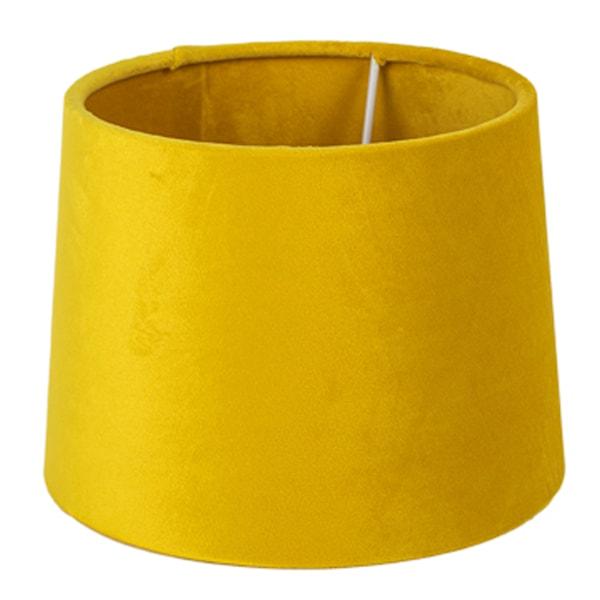 Gynning Design Lampskärm i Sammet 20 cm Gul