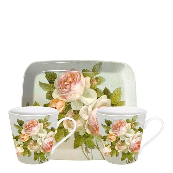 Pimpernel Antique Rose Kopper + Brett