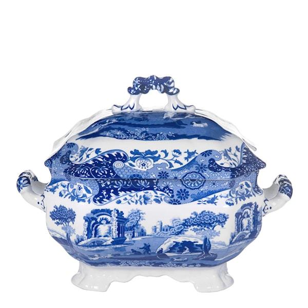 Spode Blue Italian Soppterrin 3,4 L