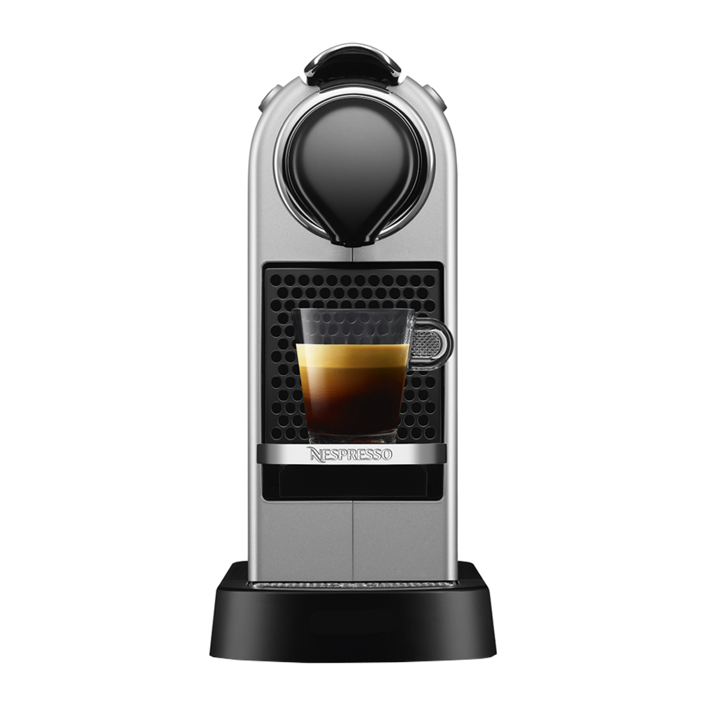 Nespresso - CitiZ Single Maskin 1 L  Silver