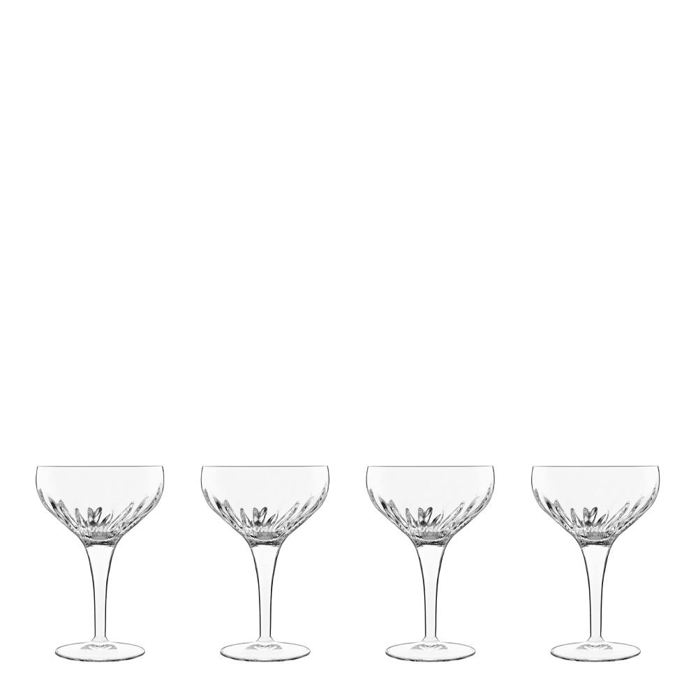 Luigi Bormioli - Mixology Cocktailglas 22,5 cl 4-pack Klar