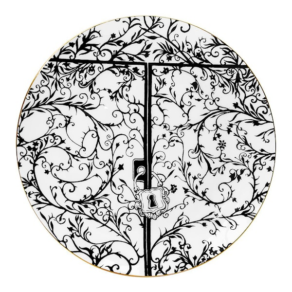 Perfect Plate The Ink House Gates 21 cm
