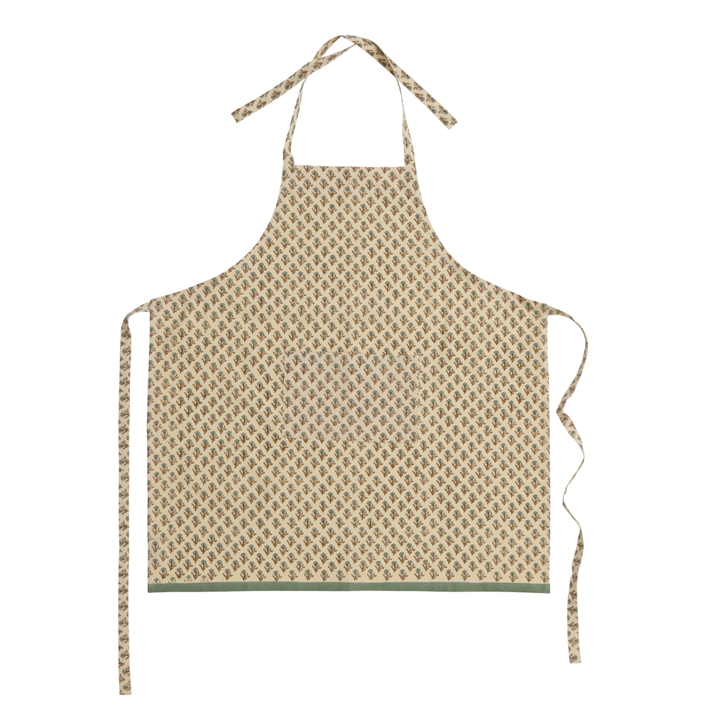 Bungalow - Poonam Förkläde 97x83 cm Klöver