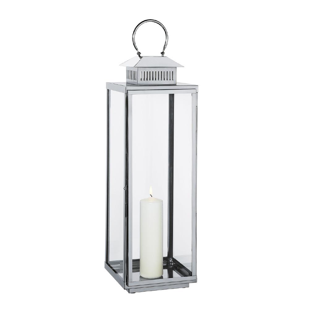 Cilio - Torre Lykta 79 cm  Silver