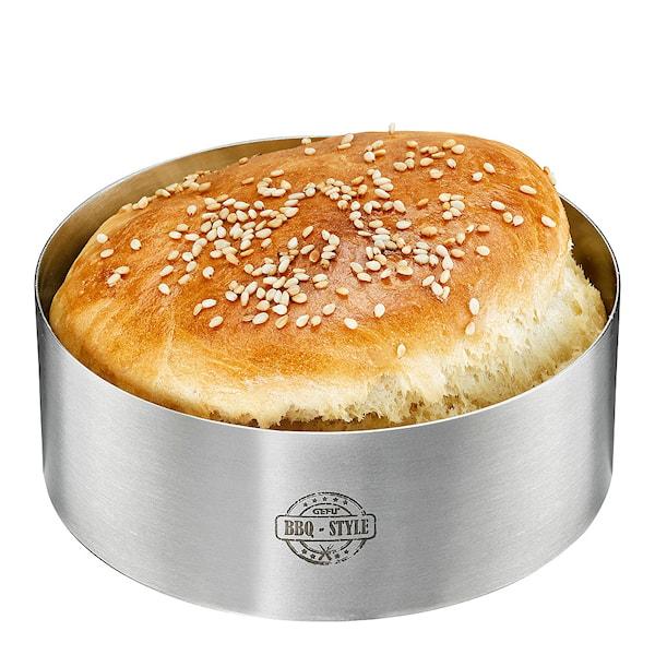BBQ Hamburgerform Rostfri