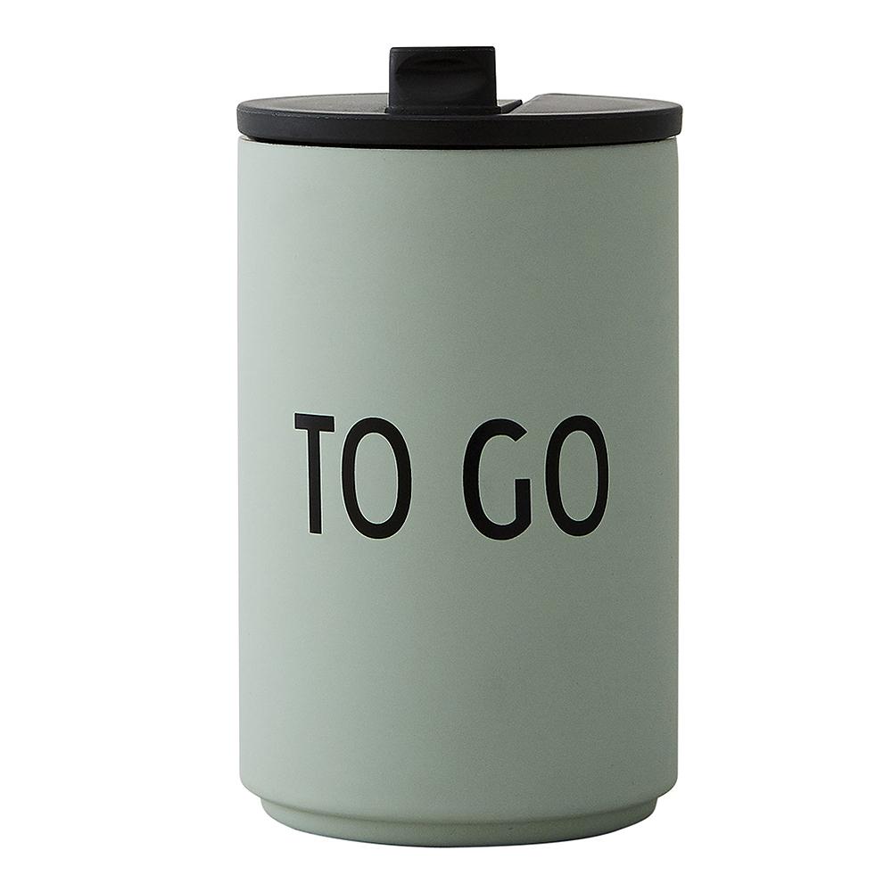 Design Letters - To Go Termosmugg To Go Grön