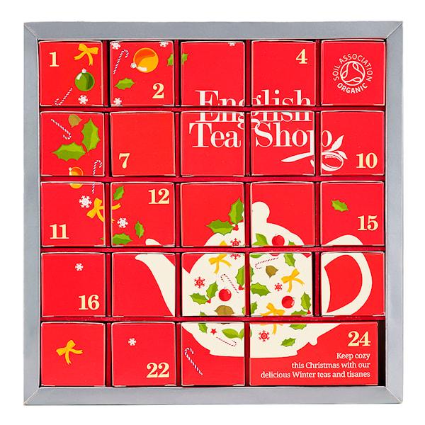 Advent Tea Calendar Eko Röd