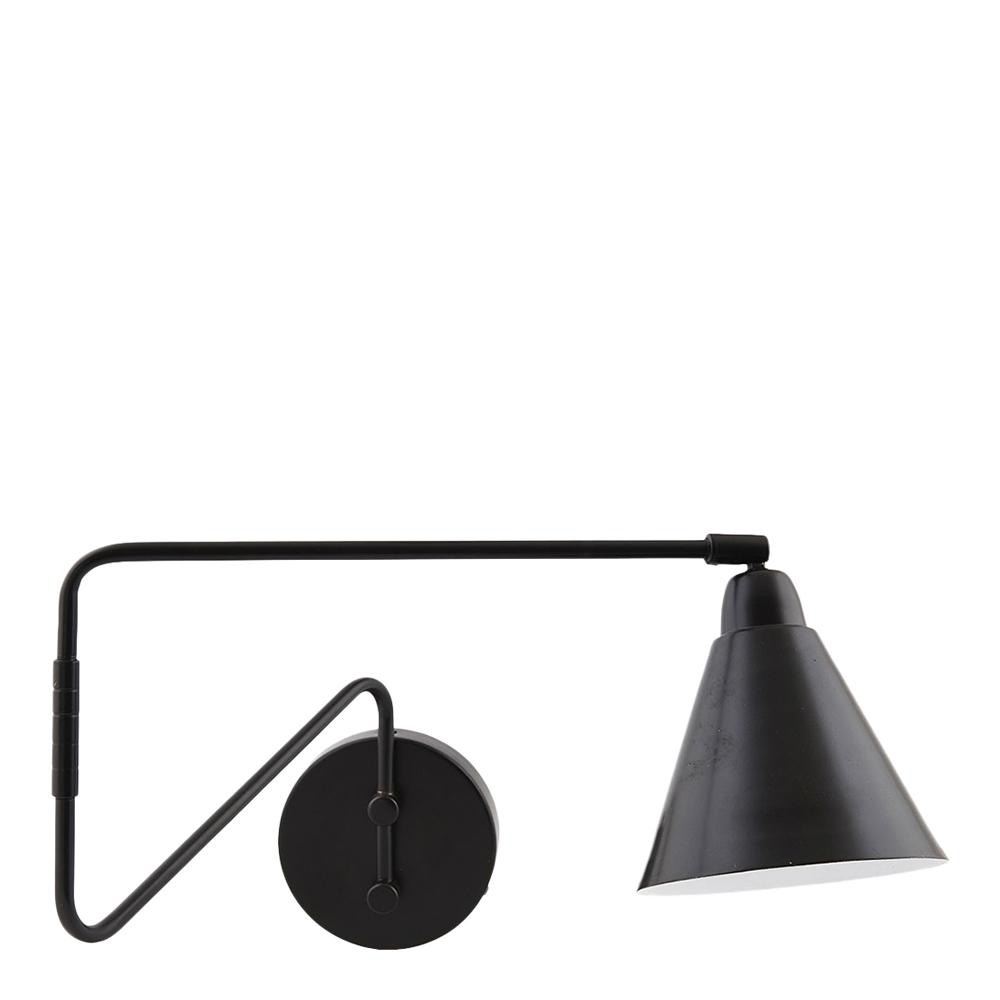 House Doctor - Game Vägglampa 70 cm Svart