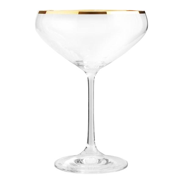 Table Top Stories Romance Champagneskål 34 cl Guld