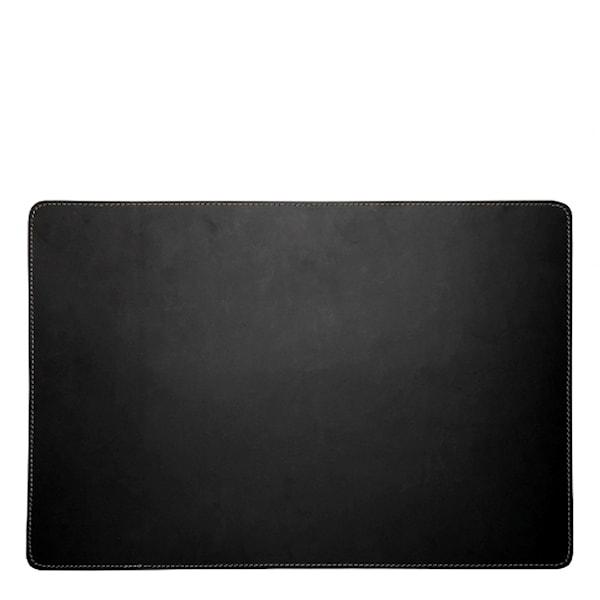 Örskov Leather Tablett Rektangulär 34x47 cm Svart