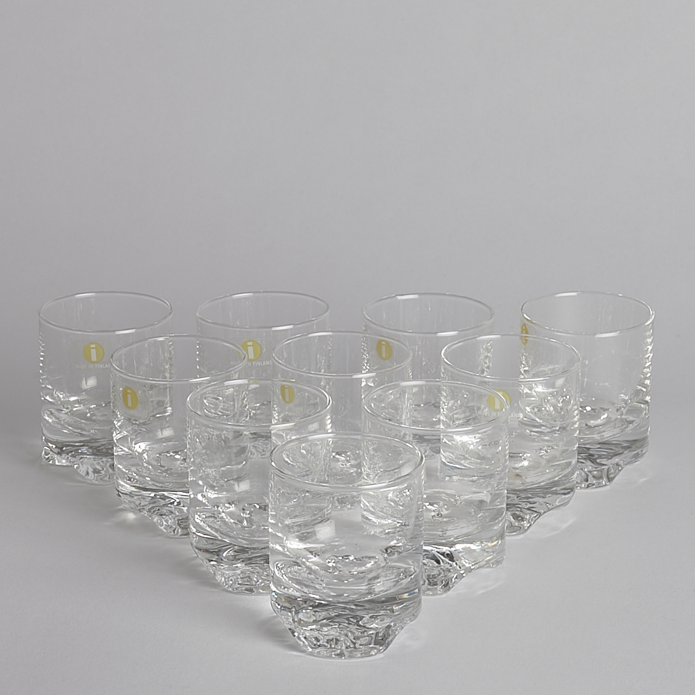 Vintage - SÅLD Glas Iittala 10 st