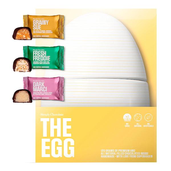 Ägg med 12 Minibars 120 g