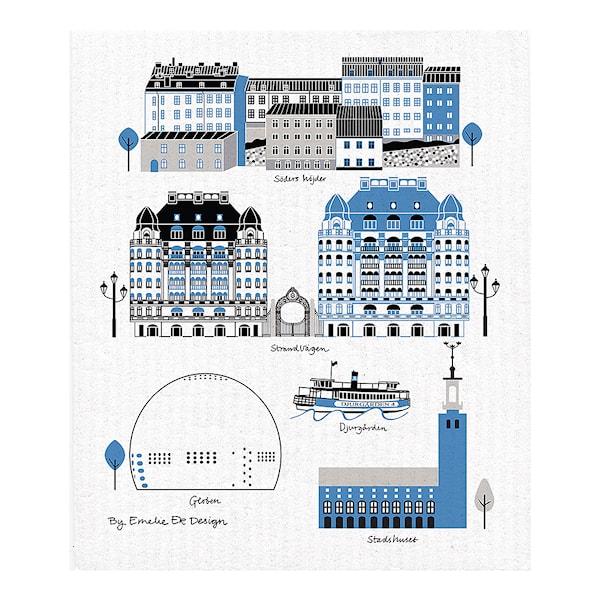 Mitt Stockholm 2 Disktrasa 18x20 cm
