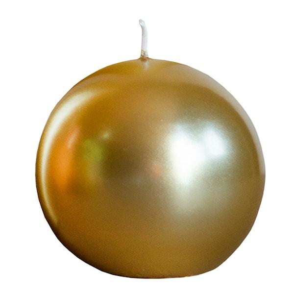 Julljus Boll 8 cm Guld