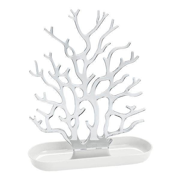 Koziol Cora Smyckesträd Crystal Clear/Cotton White