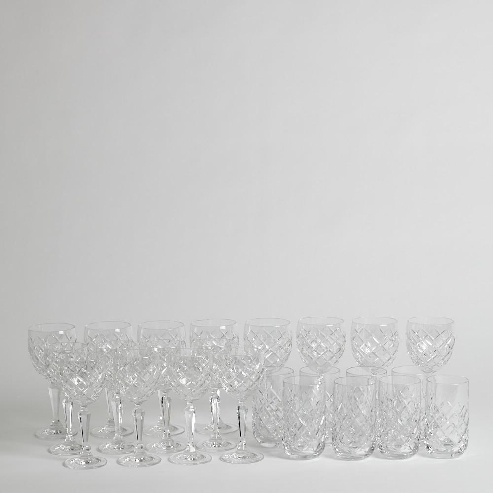 Karaffer-Servisglas-Vinglas