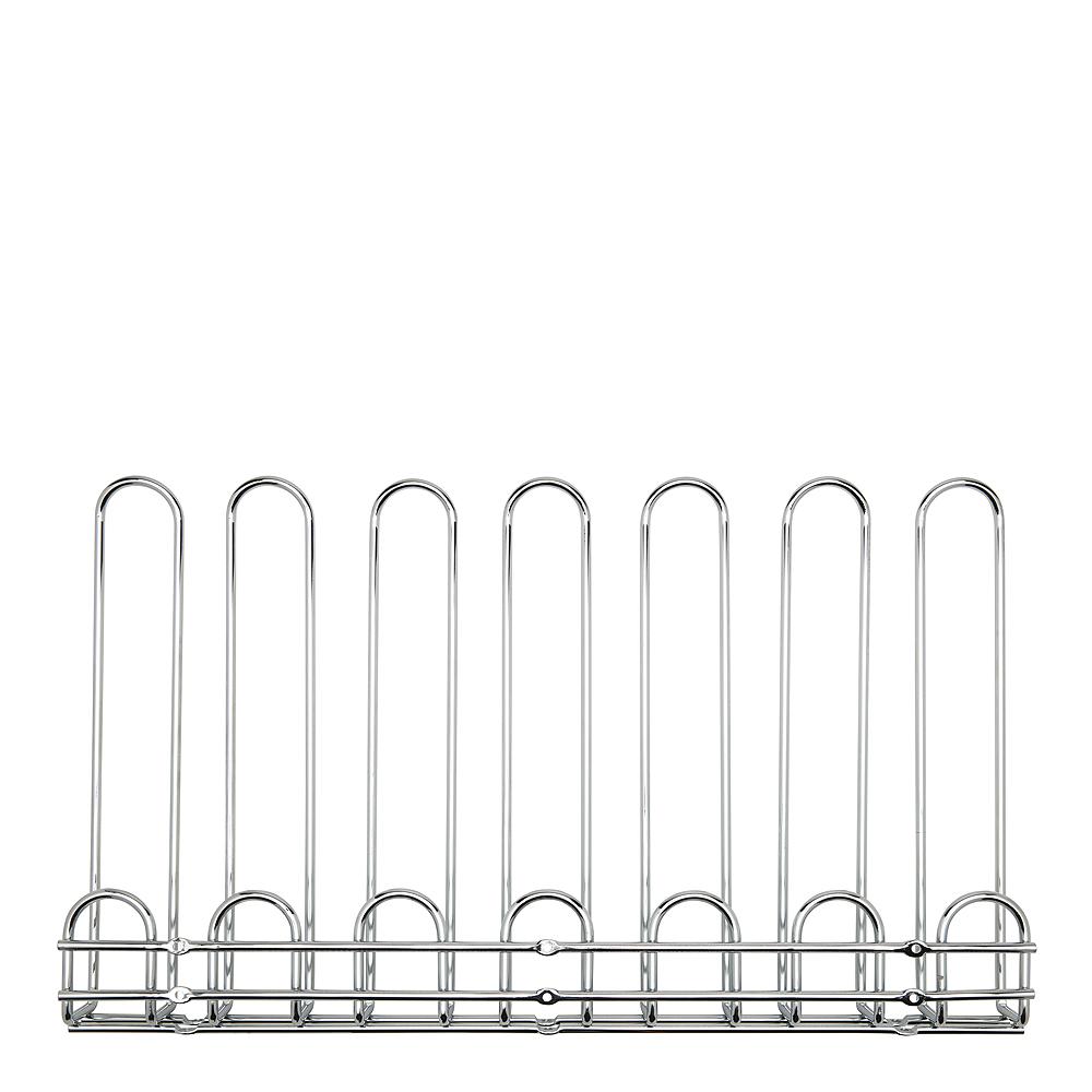 Hahn Kitchenware - Glashängare 6 rader Krom