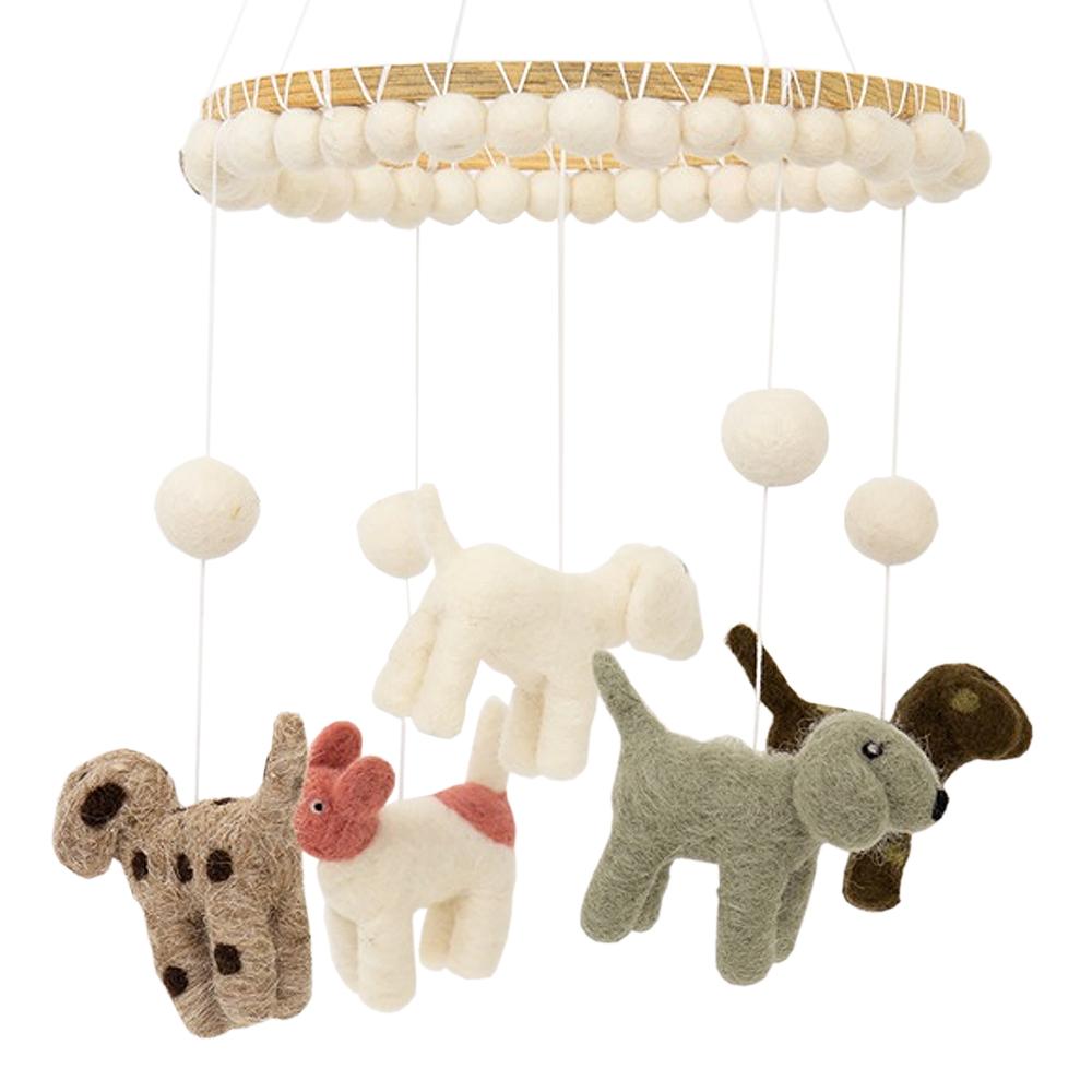 Afroart - Mobil Hundar 20 cm