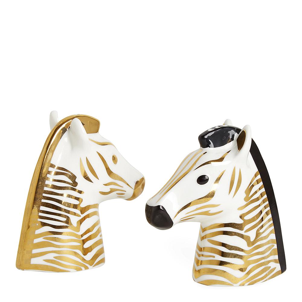 Jonathan Adler - Animalia Salt- och Pepparkar Zebra