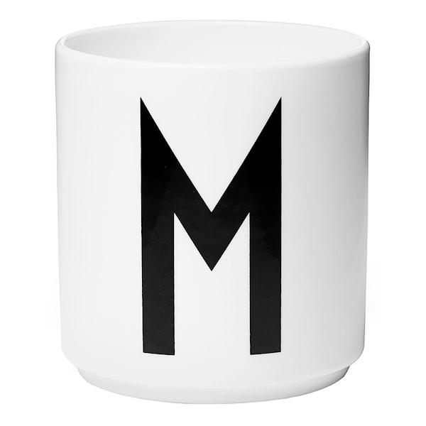 Design Letters Design Letters Mugg M Vit