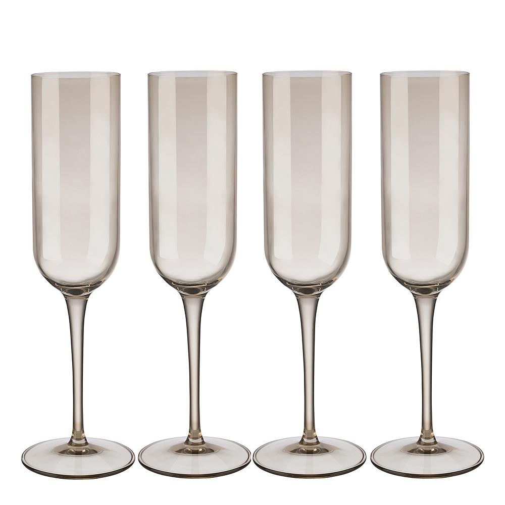 Blomus - Fuum Champagneglas 4-pack Nomad