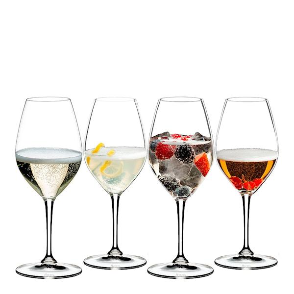 Barware Mixing Champagne Set 4-pack