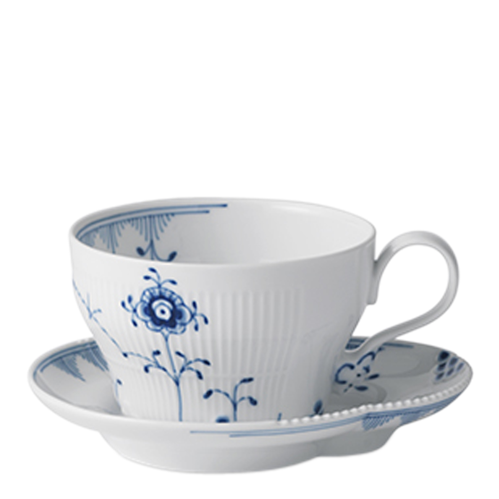 Royal Copenhagen - Blue Elements Kopp 26 cl med fat