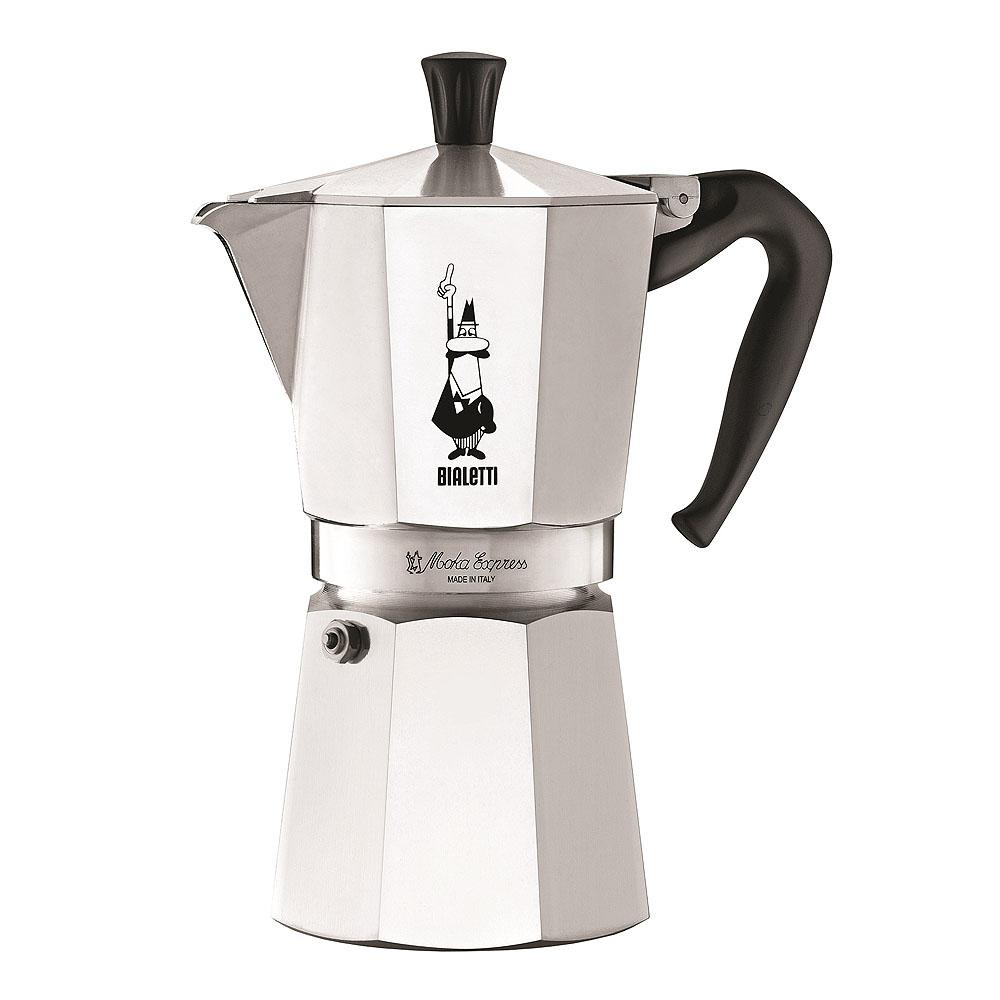 Bialetti - Moka Kaffekokare 9 koppar Rostfri