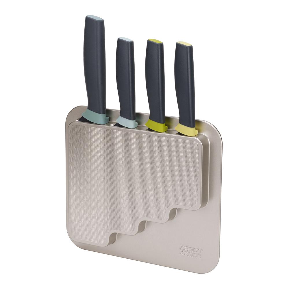Joseph Joseph - Doorstore Vägghängt knivset 4 delar