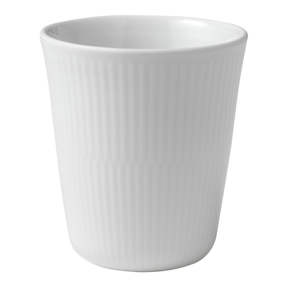 Royal Copenhagen - White Fluted Termomugg 29 cl
