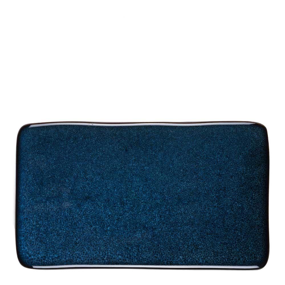 Bitz - Bitz Kuverttallrik 22x12,8 cm Mörkblå